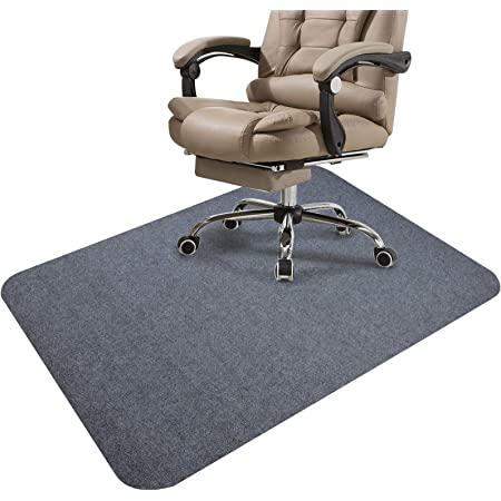 """Chair Mat Office Protector for Hardwood Floors Premium Low-Piel Floor Protector Mat Desk Rug 1/6"""" Thick 36""""X 48"""" Wood/Tile Protection Mat for Office Home"""