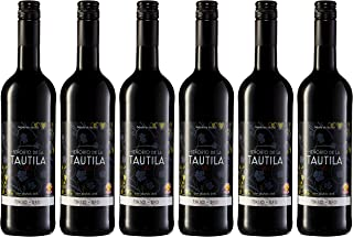 Señorío de la Tautila Vino Tinto - Paquete de 6 x 750 ml