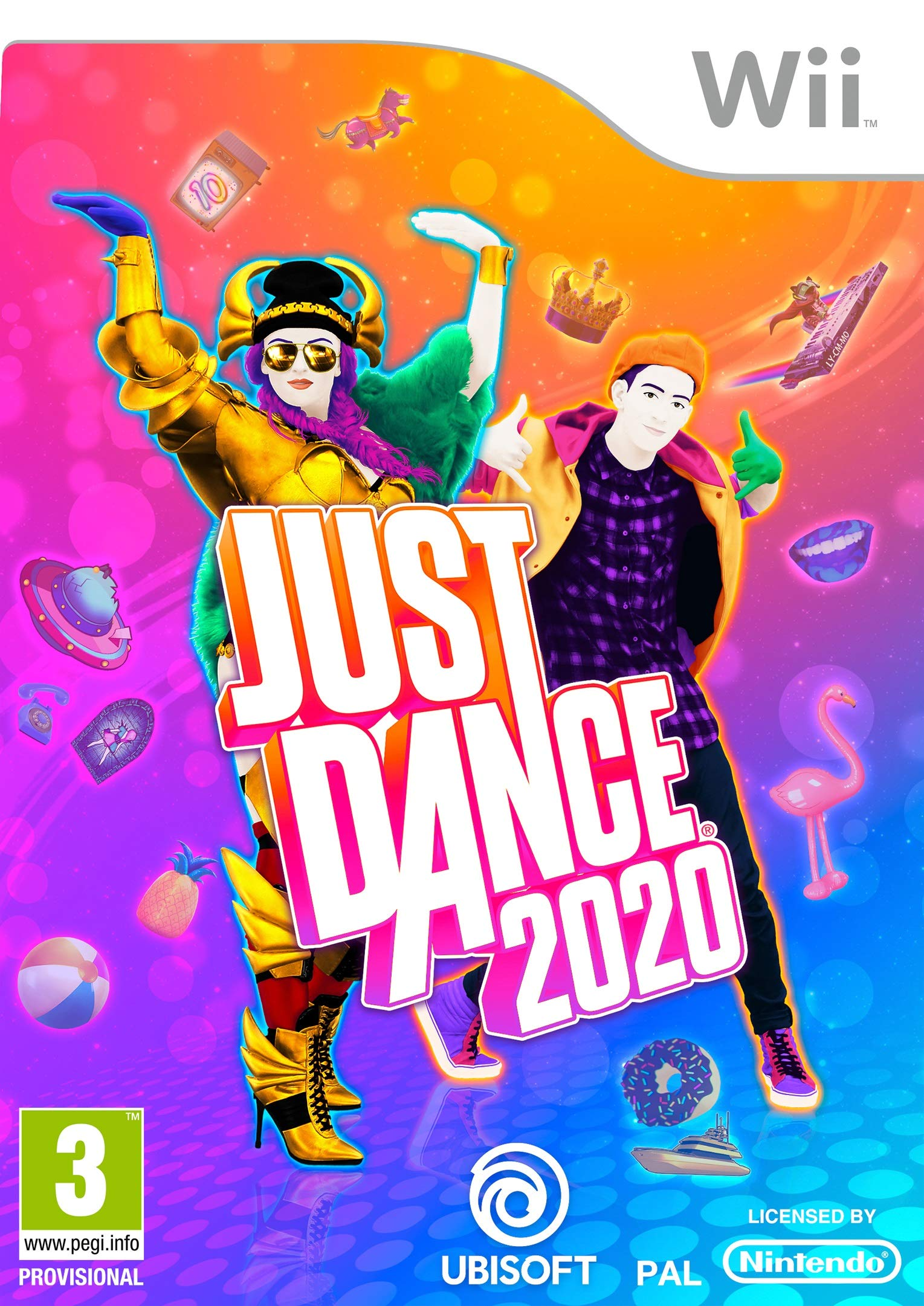 Just Dance 2020 Wii - Nintendo Wii [Importación italiana]: Amazon.es: Videojuegos