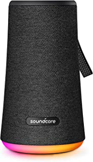 Soundcore Flare+ Portable 360° Bluetooth Speaker by Anker, Huge 360° Sound, IPX7 Waterproof, Bigger Bass, Ambient LED Ligh...