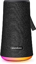Soundcore Flare + بلندگو بلوتوث 360 درجه قابل حمل توسط Anker ، Hound 360 ° Sound، IPX7 ضد آب ، باس بزرگتر ، چراغ محیطی LED ، زمان پخش 20 ساعته ، 4 درایور با 2 رادیاتور منفعل ، بلندگو برای مهمانی ها