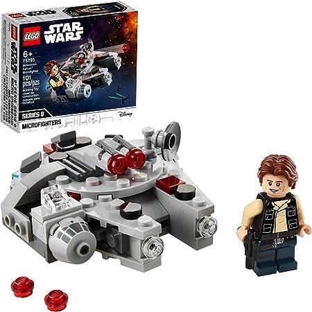 LEGO Kit de construcción Star Wars™ 75295 Microfighter: Halcón Milenario (101 Piezas)