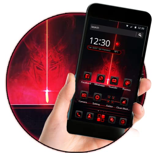 Red Devil 2D android Theme