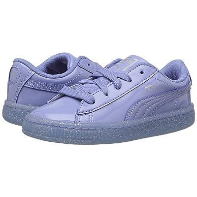 Puma Kids Basket Patent Iced Glitter INF (Toddler) (Lavendar Lustre/Lavendar Lustre) Girls Shoes
