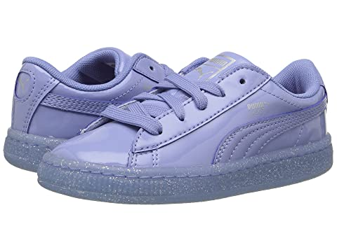 efdf7066a805 Puma Kids Basket Patent Iced Glitter INF (Toddler) at 6pm