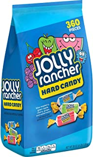 Jolly Rancher Hard Candy, Assorted, 5 Pound Bulk Candy, 2 Pack (360 Pieces)