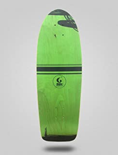 Glutier Surfskate Deck Grass 30,5 monopatin Skate ...