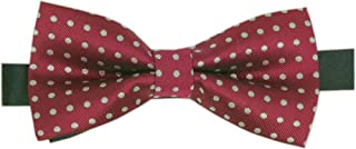 Adjustable Pre-Tied Formal Tuxedo Bow Tie for Men and Boys With Navy/Burgundy/Gray,Organized In a Gift Box
