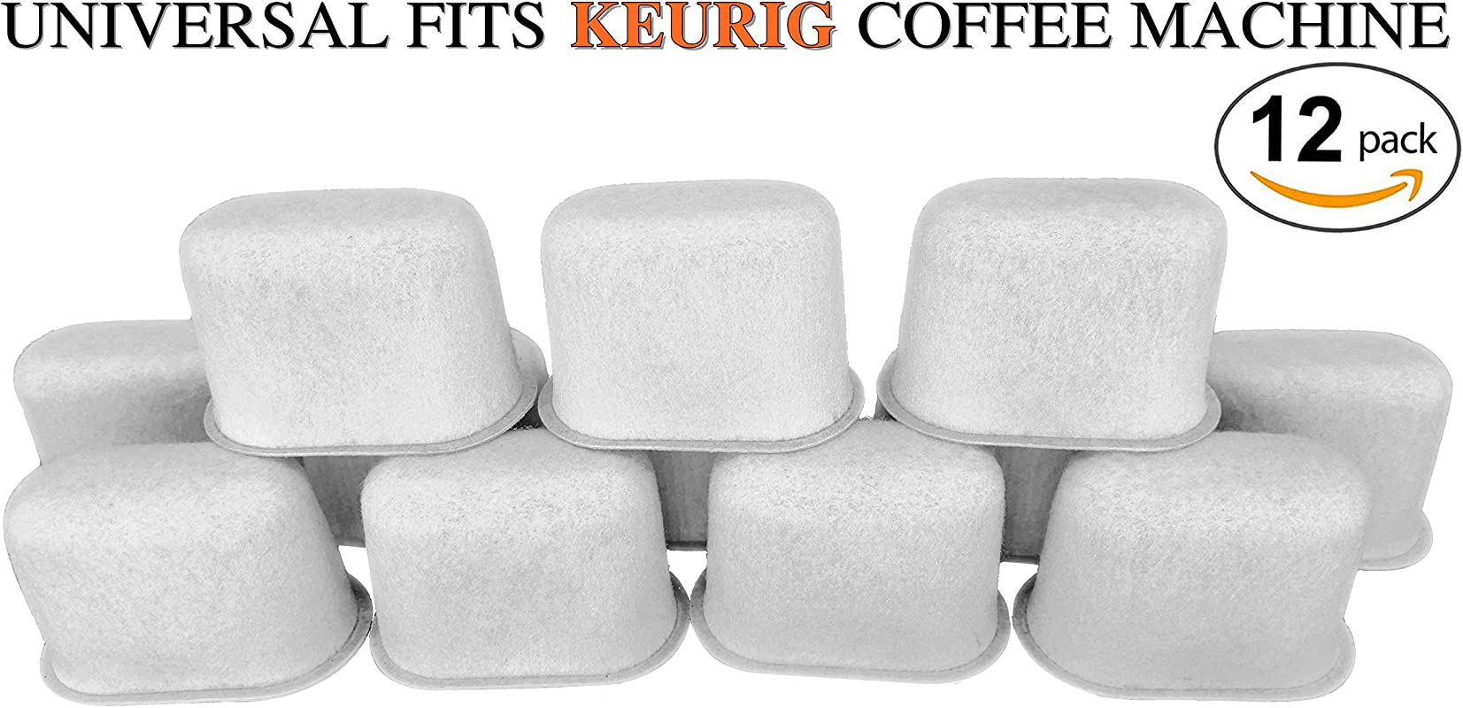 Keurig Compatible Replacement Charcoal Water Filters For Coffee Makers Fits Keurig Coffee Makers 12 Pack
