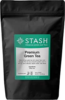 Stash Tea Premium Green Loose Leaf Tea 1 Pound Loose Leaf Premium Green Tea for Use with Tea Infusers Tea Strainers or Tea...