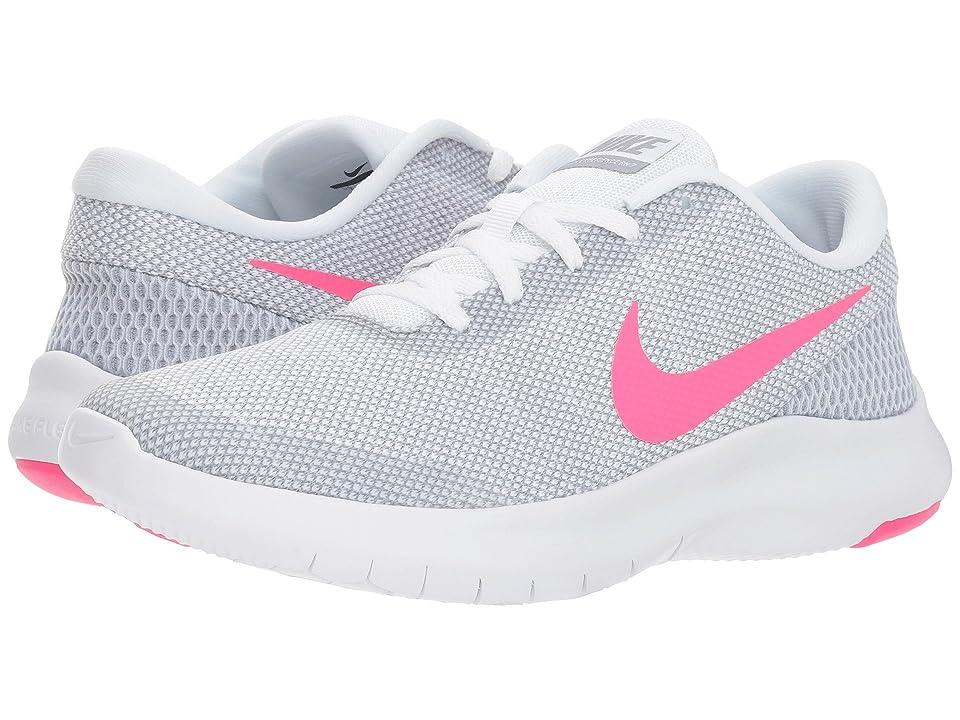 Nike Flex Experience RN 7 (White/Hyper Pink/Wolf Grey) Women