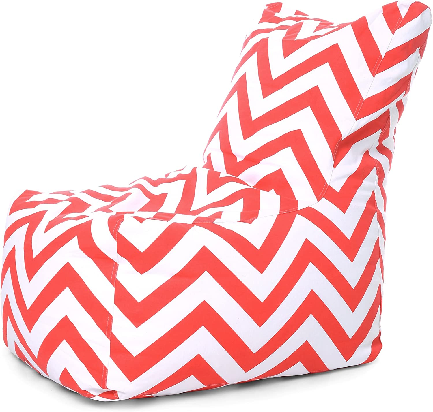 Style Homez Chair Cotton Canvas Stripes Printed Bean Bag XXL Size Cover Only