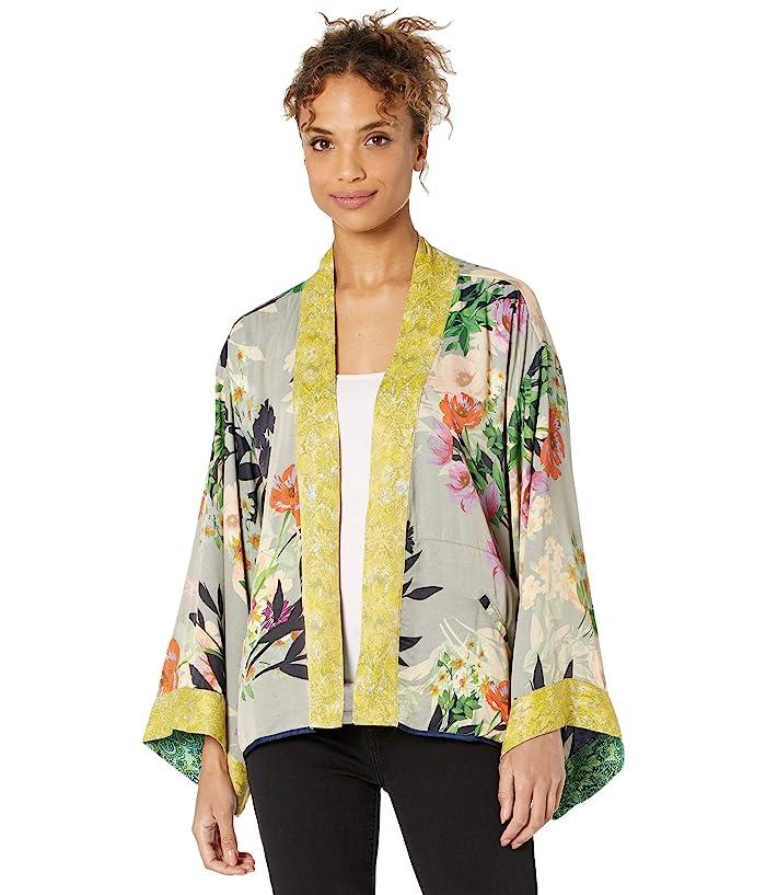 1920s Coats, Furs, Jackets and Capes History Johnny Was Rebecca Kimono Reversible Womens Clothing $284.95 AT vintagedancer.com