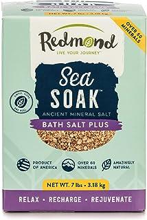 Redmond - Sea Soak Bath Salt, Minerals and Nutrients for Detox, 7 lbs