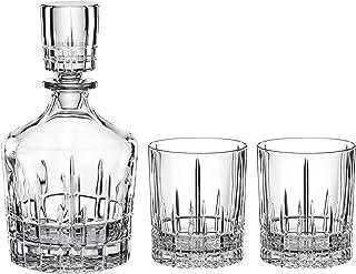 Spiegelau & Nachtmann, Whisky-Set, 3-teilig, Karaffe mit 2 Gläsern, Kristallglas, Perfect Serve, 4500198