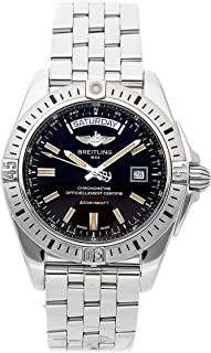 Breitling Galactic Mechanical (Automatic) Black Dial Mens Watch A45320B9/BD42 (Certified Pre-Owned)