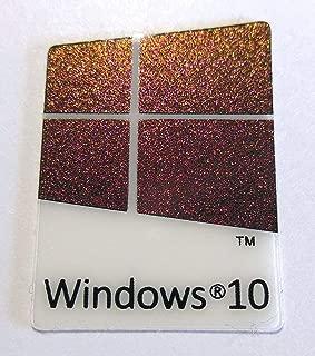 VATH Made Compatible Microsoft Windows 10 Sticker/Badge/Emblem 17 x 23mm [907]