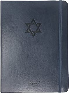 THE STAR OF DAVID ESSENTIAL JOURNAL (NAVY LEATHERLUXE?)
