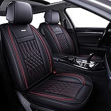 Leopard Faux Fur Car Seat Covers 2006-09 Honda Civic 2 x Fronts