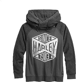 HARLEY-DAVIDSON Women's Since 1903 Pullover Hoodie, Grey