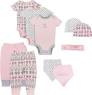Lamaze Baby-Girls LA3203644I18 Baby Organic 10 Piece Gift Set Layette Set