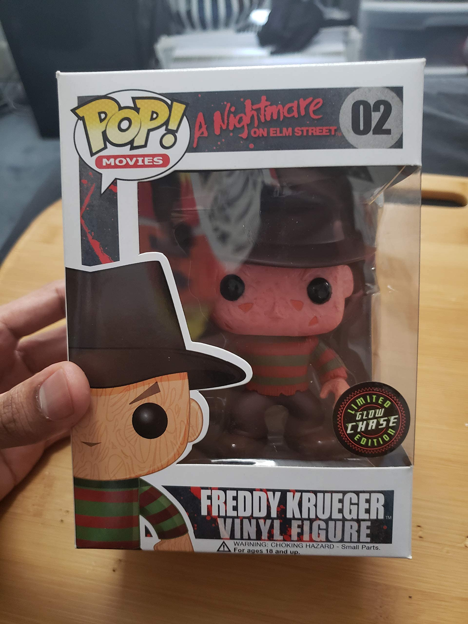 Vinyl Nightmare on Elm Street Freddy Krueger Funko Pop