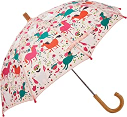 Frolicking Horses Umbrella
