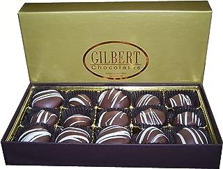 Gilbert Chocolates Milk Cherry Cordials - 8 ounces of liquid cherry center goodness