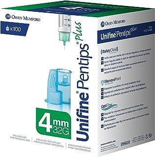 Unifine Pentips Pen Needles, 4mm X 32g, 100 Count