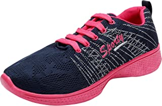 Super Women's Blue Stylish and Elegant Casual Wear Synthetic Running Shoes