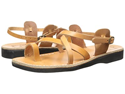 Jerusalem Sandals The Good Shepherd Buckle Mens (Tan) Men