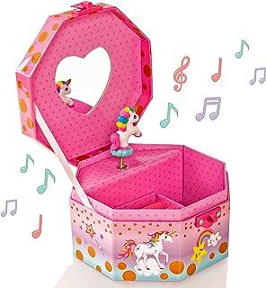 Joyero Musical Unicorn Girlz Style & Heart Lock - Joyero