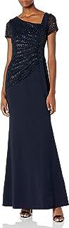 Women's Sequin Crepe Dress