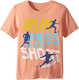 Run Pass Shoot Tee (Toddler/Little Kids/Big Kids)