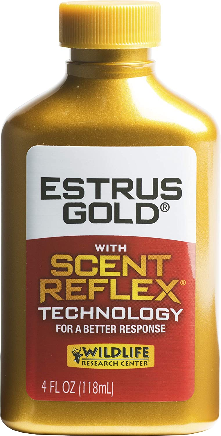 Wildlife Research 44064 Sythetic Max 84% OFF Price reduction Estrus Bottle Gold 4-Ounce
