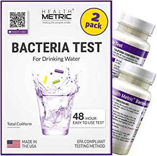 Coliform Bacteria Test Kit for Drinking Water - Easy to Use 48-Hour Water Quality Testing Kit for Home Tap & Well Water | ...