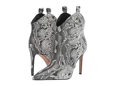 Jessica Simpson Pixille (Black/White Amazonia Snake Print Leather) Women