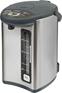 Zojirushi CD-WHC40XH Micom Water Boiler & Warmer, 135 oz, Stainless Gray
