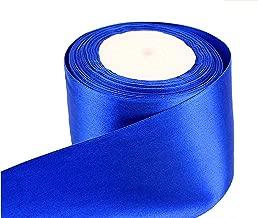 10 km Satin Bande bleu clair taille 3 mm