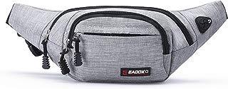 EAOOK Water Resistance Travel Belt,Big Fanny Pack for Outdoor Sport/Money Belt