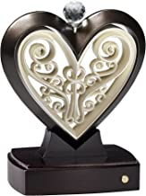 Unity Heart Rubbed Bronze and Ivory