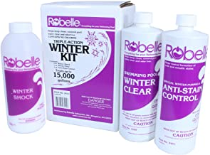 Robelle 3415 Triple-Action Winter Kit for Swimming Pools, 15000-Gallon
