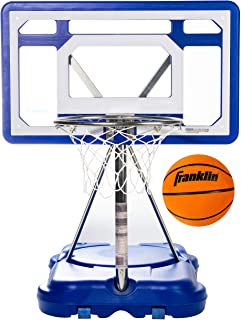"Franklin Sports Pool Basketball Hoop - Waterproof Mini Basketball Hoop for Poolside - Portable 30"" Kids Basketball Hoop - ..."
