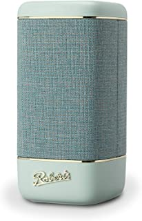 Roberts Beacon 330 Bluetooth Speaker with EQ & Stereo Pairing - Duck Egg