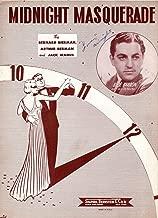 MIDNIGHT MASQUERADE BLUE BARRON 1946 SHEET MUSIC FRAME SHEET MUSIC 8