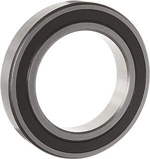 WJB 60/32-2RS Deep Groove Ball Bearing, Double Sealed, Metric, 32mm ID, 58mm OD, 13mm Width, 3400lbf Dynamic Load Capacity, 2050lbf Static Load Capacity