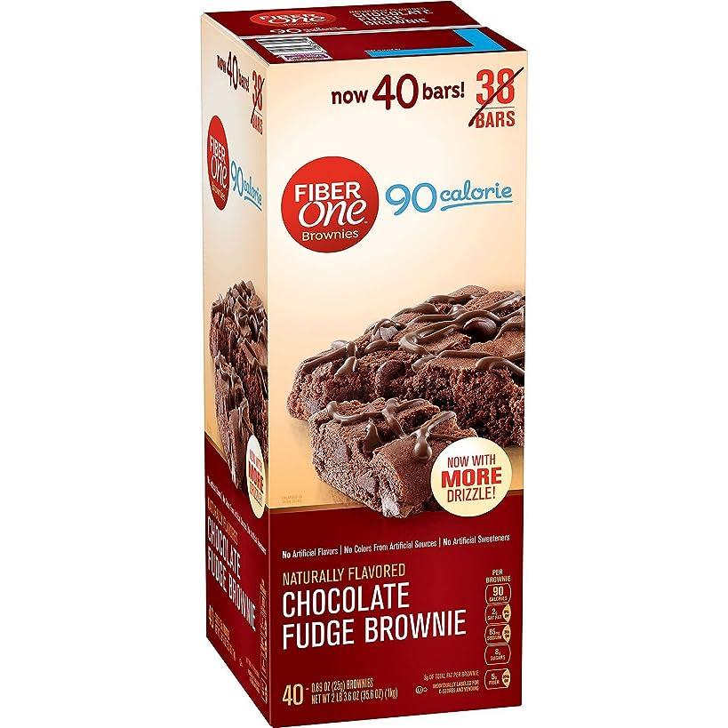Fiber One 90 Calorie Choco Fudge Brownies, 33.8 oz