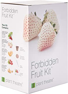 Plant Theatre Forbidden Fruit Kit Gift Box - 5 Delectable Fruits to Grow - Everything You Need to Start Growing in one Box! - Great Grow Kit Gift