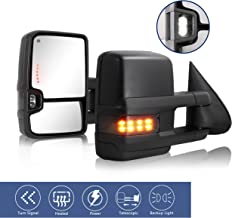 HF Autoparts Towing Mirror Fit for 1999-2002 Chevy...