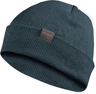 MERIWOOL Kids' Beanie - Merino Wool Ribbed Knit Winter Hat for Boys and Girls